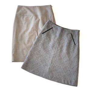 Bundle of 2 Banana Republic Wool Skirt